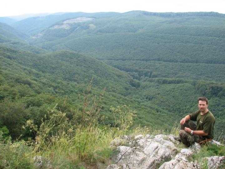 Pihenő és szép kilátás Magos-kőnél